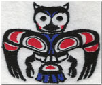 Owl Native American Animal Symbol