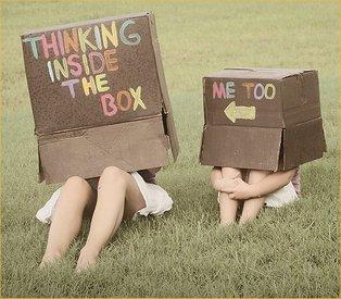 locked inside the box