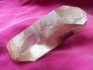Another high vibration crystal that is known for bringing in the light codes is Lithium Quartz. I am often guided to place it over the third eye of my clients, and many report seeing light language for the first time. With Lithium Quartz, the kinds of light codes that you typically see are colorful energy fields, geometric patterns, and abstract symbols. I have also had the experience of holding a Lithium Quartz and watching etched triangles suddenly appear on the face of the crystal right before my eyes! Also known as records, these triangles represent coded information. According to one of my teachers, Katrina Raphaell, these records were deliberately programmed into the Quartz by ancient Atlanteans, and the information within has some connection with whomever ends up being the guardian of that specific crystal.