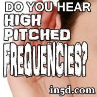 Spiritual Psychology: Do you hear perpetual high pitched frequencies? You're not alone!