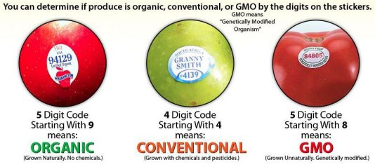 Organic Food Labeling Standards