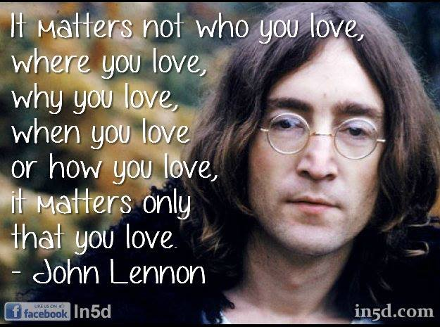 Top 50 John Lennon Quotes  In5D : In5D