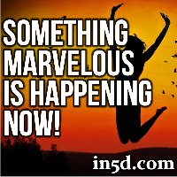 Something Marvelous Is Happening Now!