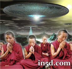 Remote Viewing Monks See 2012 ET Intervention | in5d.com