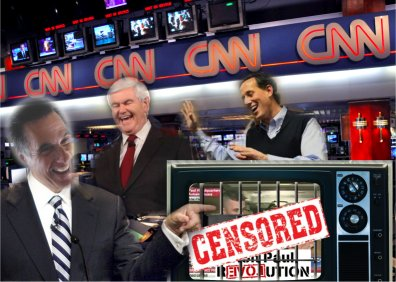 Main Stream Media Conspiracy Against Ron Paul