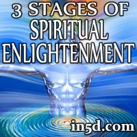The 3 Stages of Spiritual Enlightenment