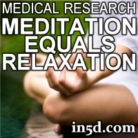Medical Proof: Meditation Equals Relaxation