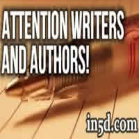 Attention Writers and Authors!